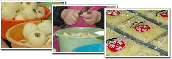 デザートりんご こだわりの製法